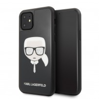 Чехол KARL Lagerfeld, для iPhone 11 (KLHCN61DLHBK)