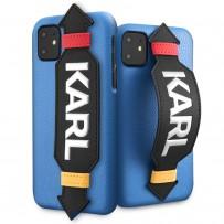 Чехол KARL Lagerfeld, для iPhone 11 (KLHCN61HDAWBL)