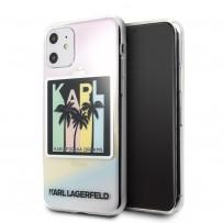 Чехол KARL Lagerfeld, для iPhone 11 (KLHCN61IRKD)
