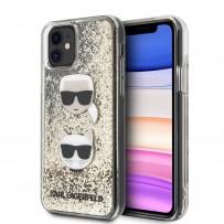 Чехол KARL Lagerfeld, для iPhone 11 (KLHCN61KCGLGO)