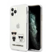 Чехол KARL Lagerfeld для iPhone 11 Pro Max чехол PC/TPU collection Karl Iconik & Choupette Hard Transp (KLHCN65CKTR)