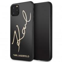 Чехол KARL Lagerfeld, для iPhone 11 Pro Max (KLHCN65DLKSBK)