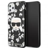Чехол KARL Lagerfeld, для iPhone 11 Pro Max (KLHCN65FLFBBK)