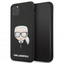 Чехол KARL Lagerfeld, для iPhone 11 Pro Max (KLHCN65GLBK)