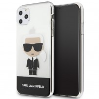 Чехол KARL Lagerfeld, для iPhone 11 Pro Max (KLHCN65TPUTRIC)