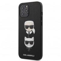 Чехол Karl Lagerfeld для iPhone 12 Pro Max (KLHCP12LSAKICKCBK)