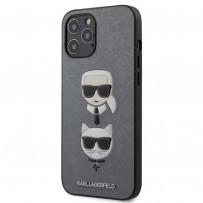 Чехол Karl Lagerfeld для iPhone 12 Pro Max (KLHCP12LSAKICKCSL)