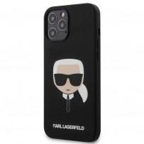 Чехол Karl Lagerfeld для iPhone 12 Pro Max (KLHCP12LSLKHBK)