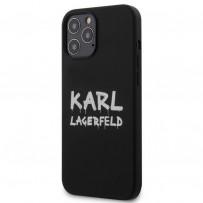 Чехол Karl Lagerfeld для iPhone 12 Pro Max (KLHCP12LSLSTBK)