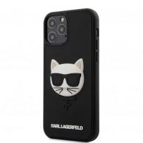 Чехол Karl Lagerfeld для iPhone 12 Pro/ 12 Max (KLHCP12MCH3DBK)
