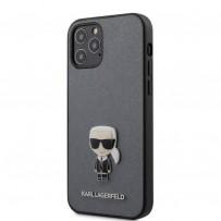 Чехол Karl Lagerfeld для iPhone 12 Pro/ 12 Max (KLHCP12MIKMSSL)