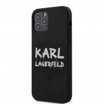 Чехол Karl Lagerfeld для iPhone 12 Pro/ 12 Max (KLHCP12MSLSTBK)