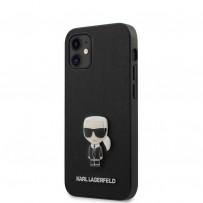 Чехол Karl Lagerfeld для iPhone 12 (KLHCP12SIKMSBK)