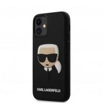 Чехол Karl Lagerfeld для iPhone 12 (KLHCP12SKH3DBK)