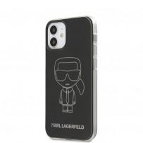 Чехол Karl Lagerfeld для iPhone 12 (KLHCP12SPCUMIKBK)