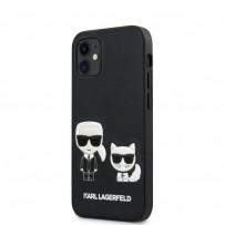 Чехол Karl Lagerfeld для iPhone 12 (KLHCP12SCH3DBK)
