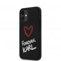 Чехол Karl Lagerfeld для iPhone 12 (KLHCP12SSILKRBK)