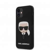Чехол Karl Lagerfeld для iPhone 12 (KLHCP12SSLKHBK)