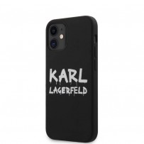 Чехол Karl Lagerfeld для iPhone 12 (KLHCP12SSLSTBK)