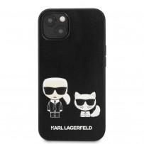 Чехол KARL Lagerfeld для iPhone 13 PU Karl & Choupette Hard Black (KLHCP13MPCUSKCBK)