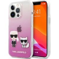 Чехол KARL Lagerfeld для iPhone 13 Pro Max PC/TPU Karl & Choupette Hard Transparent (KLHCP13XCKTRP)