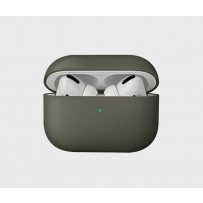 Чехол Uniq для Airpods Pro LINO Liquid silicone Dark grey, силиконовый