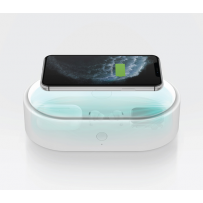 Санитайзер LYFRO санитайзер Air Capsule UVC Disinfection Box Wireless 7.5W/10W с беспроводной зарадкой