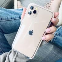 """Противоударный чехол """"Фруктовый лед"""" для iPhone 11 Pro, персиковый"""