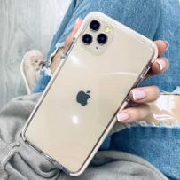 """Противоударный чехол """"Фруктовый лед"""" для iPhone 11 Pro Max, персиковый"""