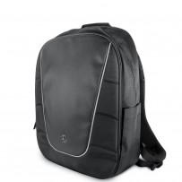 Рюкзак Mercedes для ноутбуков 15'' рюкзак Computer backpack Black/Silver piping