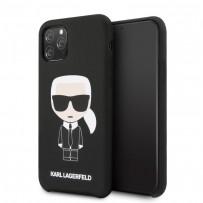 Чехол KARL Lagerfeld, для iPhone 11 Pro Max (KLHCN65SLFKBK)