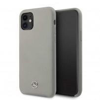 Чехол Mercedes-Benz для iPhone 11 чехол Silicone line Hard Grey