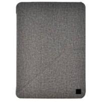 Чехол Uniq для iPad Pro 11 (2018) Yorker Kanvas Plus Grey, с функцией зарядки стилуса
