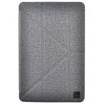 Чехол Uniq для iPad Mini 4/5 Yorker Kanvas Grey