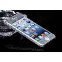 "Защитная, противоскользящая пленка ""Magic sticker"" для iPhone 5/5s, морская волна"