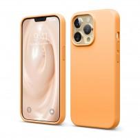 Чехол Elago для iPhone 13 Pro Soft silicone (Liquid) Orange (ES13SC61PRO-OR)