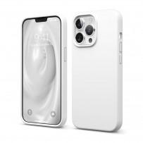 Чехол Elago для iPhone 13 Pro Soft silicone (Liquid) White (ES13SC61PRO-WH)