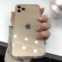 Противоударный чехол-лёд для iPhone 11 Pro Max, кристально-прозрачный блеск