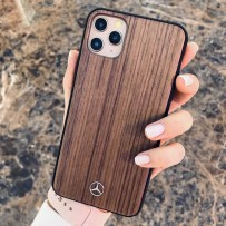 Чехол Mercedes-Benz для iPhone 11 Pro Max чехол Wood Hard Rosewood Brown