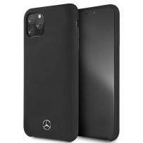 Чехол Mercedes-benz для iPhone 11 Pro Max Silicone line Hard Black