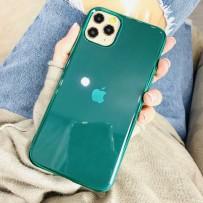 "Чехол ""Глянец"" для iPhone 11 Pro, изумрудный"