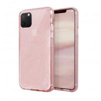 Противоударный чехол-лёд для 11 Pro Max, розовый блеск