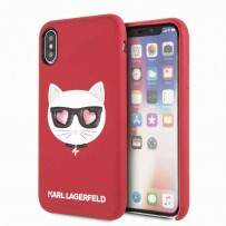 Чехол KARL Lagerfeld для iPhone XS/X, (KLHCPXGLRE)