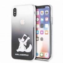 Чехол KARL Lagerfeld для iPhone XS/X, (KLHCPXCFNRCBK)