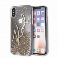 Чехол KARL Lagerfeld для iPhone XS/X, (KLHCPXSGGO)