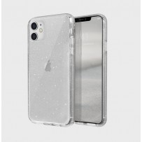 Противоударный чехол-лёд для iPhone 11, кристально-прозрачный блеск