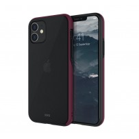 Чехол Uniq для iPhone 11 Vesto Maroon Red
