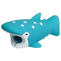 """Зверушка-игрушка для защиты кабеля от износа """"Китовая акула"""" для iPhone"""