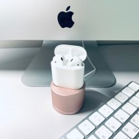 Док-станция COTEetCI Base20 Dock AirPods Stand CS7202-MRG Розовое золото