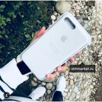 Чехол-накладка силиконовый Apple Silicone Case для iPhone 7/8 Plus (5.5) Белый под оригинал